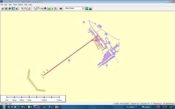 Global Mapper อ่านไฟล์ DWG