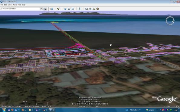 3D on Google earth