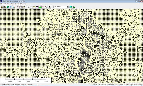 3D points as DTM (Digital Terrain Model)