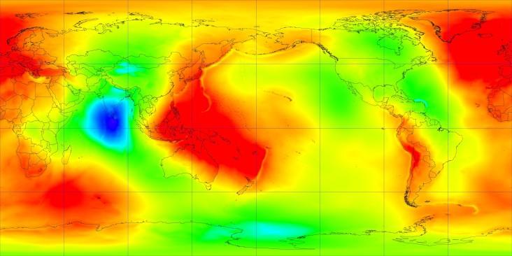 geoid undulation